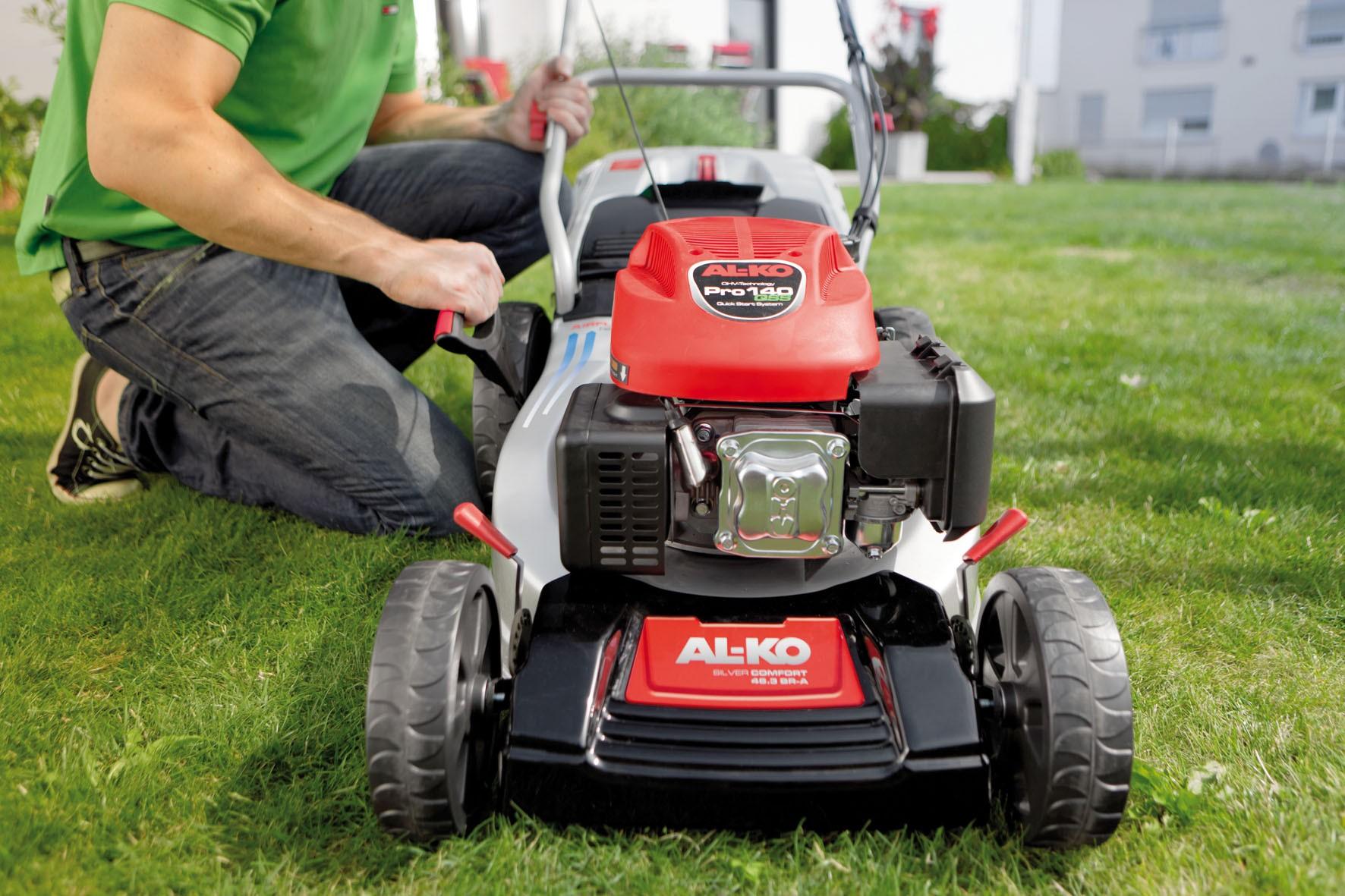 Какие виды газонокосилок АЛКО представлены на рынке?