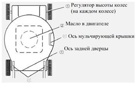 Газонокосилка Крафтсман 37041 - схема