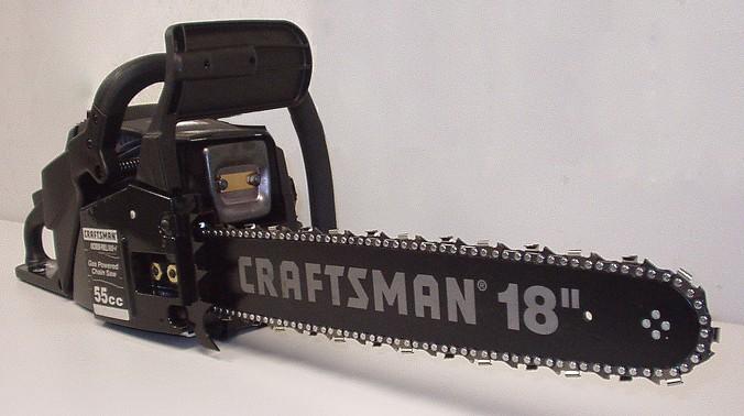 Бензопила Крафтсман (Craftsman) 55СС