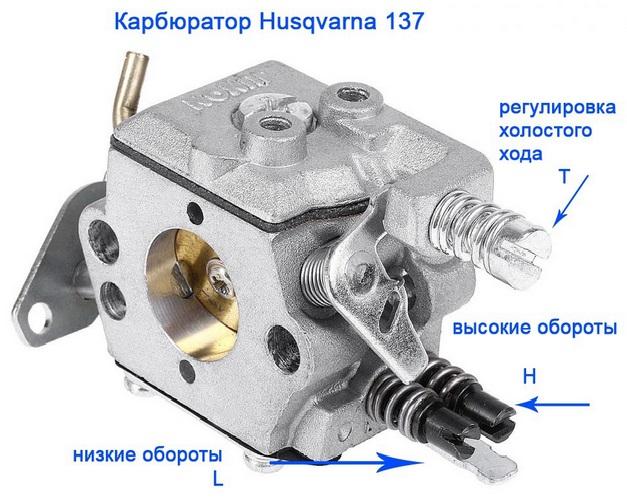 Карбюратор бензопилы