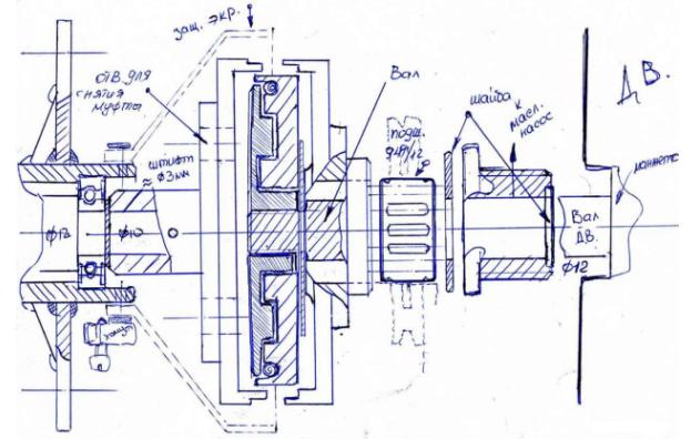 Лодочный мотор из бензопилы - чертеж