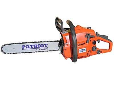 Бензопила Патриот (Patriot): PT 2512, 3816, 4518, 4520, 5220, 6220; Garden HG 457, 529, отзывы владельцев, цена