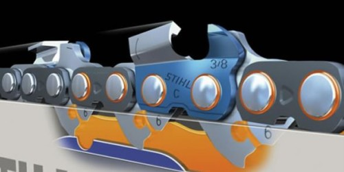 Система смазки цепной электропилы