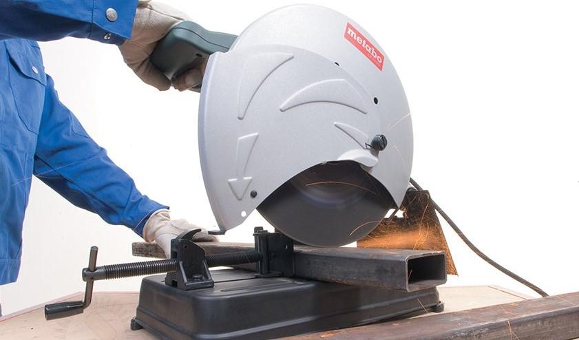 Электропила дисковая по металлу