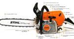 Устройство и принцип работы бензопилы