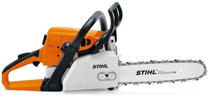 Бензопила «Stihl» MS 250 — устройство, характеристики