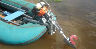 Самодельные лодочные моторы из триммера