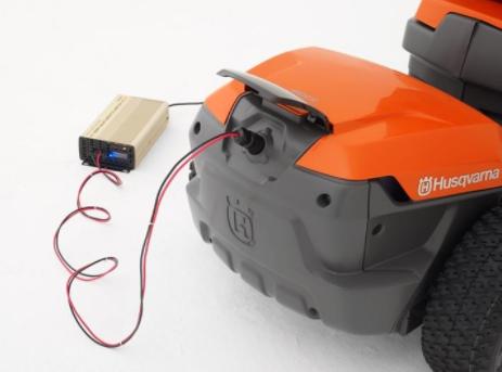 Электрические газонокосилки райдеры