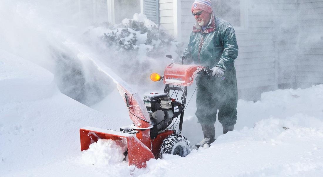 эксплуатация снегоуборочной машины