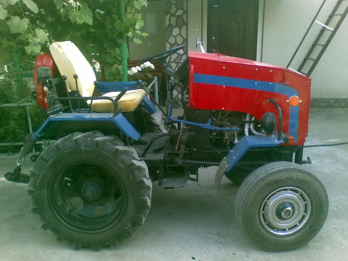 Картинки самодельного трактора
