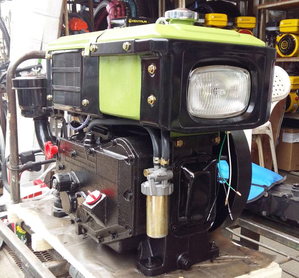 двигатель к мотоблоку с фарой